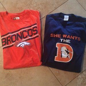 Other - Broncos T-shirt bundle